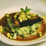 Summer Food: Swordfish Steak with Zucchini pasta