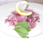 Summer Food: Red Onion Salads