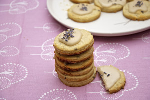 Lavender Rosemary Lemon cookies